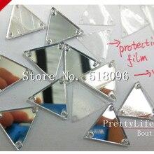 Лучшее акриловое чистое зеркало Cristal серебро 14 мм, 100 шт Стразы пришивные камни и кристалл страз хрустальные аксессуары Diy