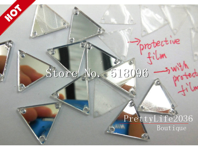 top Rated Acrylic Clean Mirror Cristal Silver 14mm 84739a9bd124