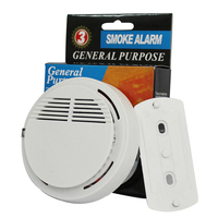 New Fire Safety and Accurate Independent Wireless Firefighter Smoke Alarm Smoke Detector