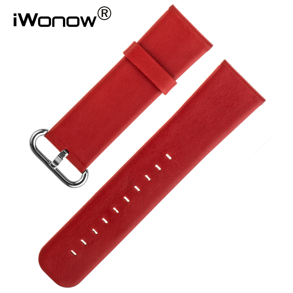 Genuine Leather Watch Band 22mm for Samsung Gear S3 Classic / Frontier Stainless Steel Pin Buckle Strap Wrist Belt Bracelet 22mm nylon watch band for samsung gear s3 classic frontier zulu fabric strap wrist belt bracelet black gray blue brown green