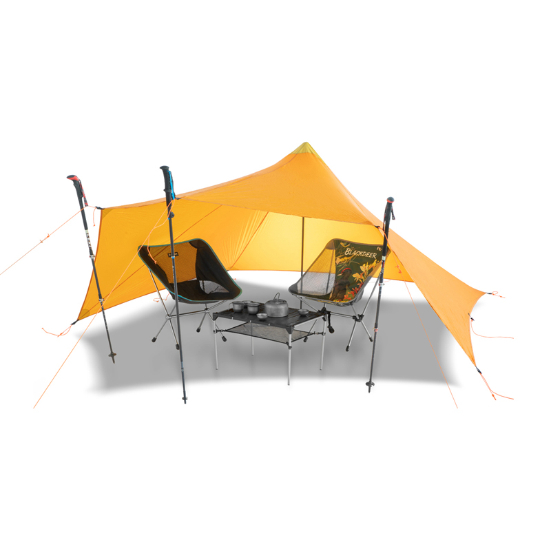 TrailStar Outdoor Ultralight 1-2 Person 15D Nylon Sides Silicon Pyramid shelter tent for hiking campingTrailStar Outdoor Ultralight 1-2 Person 15D Nylon Sides Silicon Pyramid shelter tent for hiking camping