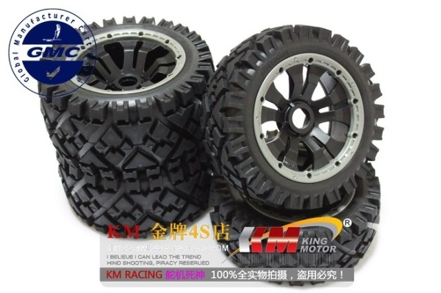 Buggy All Terrain Wheels Fits King Motor Baja, HPI 5B, SS, 2.0, Rovan Buggy and other bajas mountain buggy прогулочная terrain solus