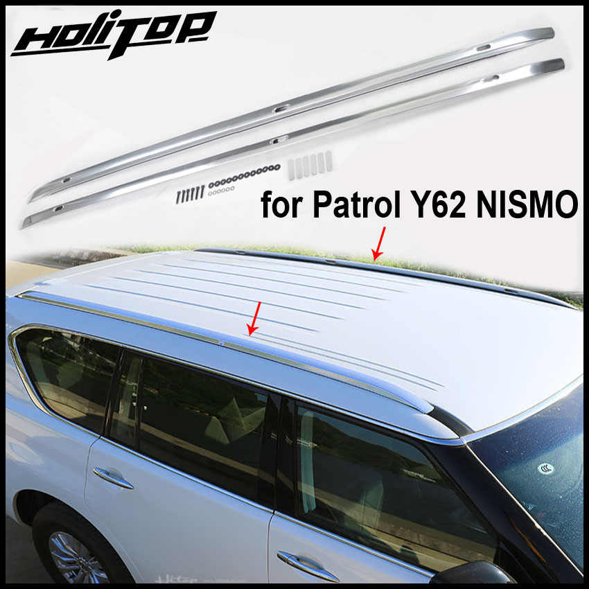 hot roof rack roof rail luggage roof bar for Nissan Patrol