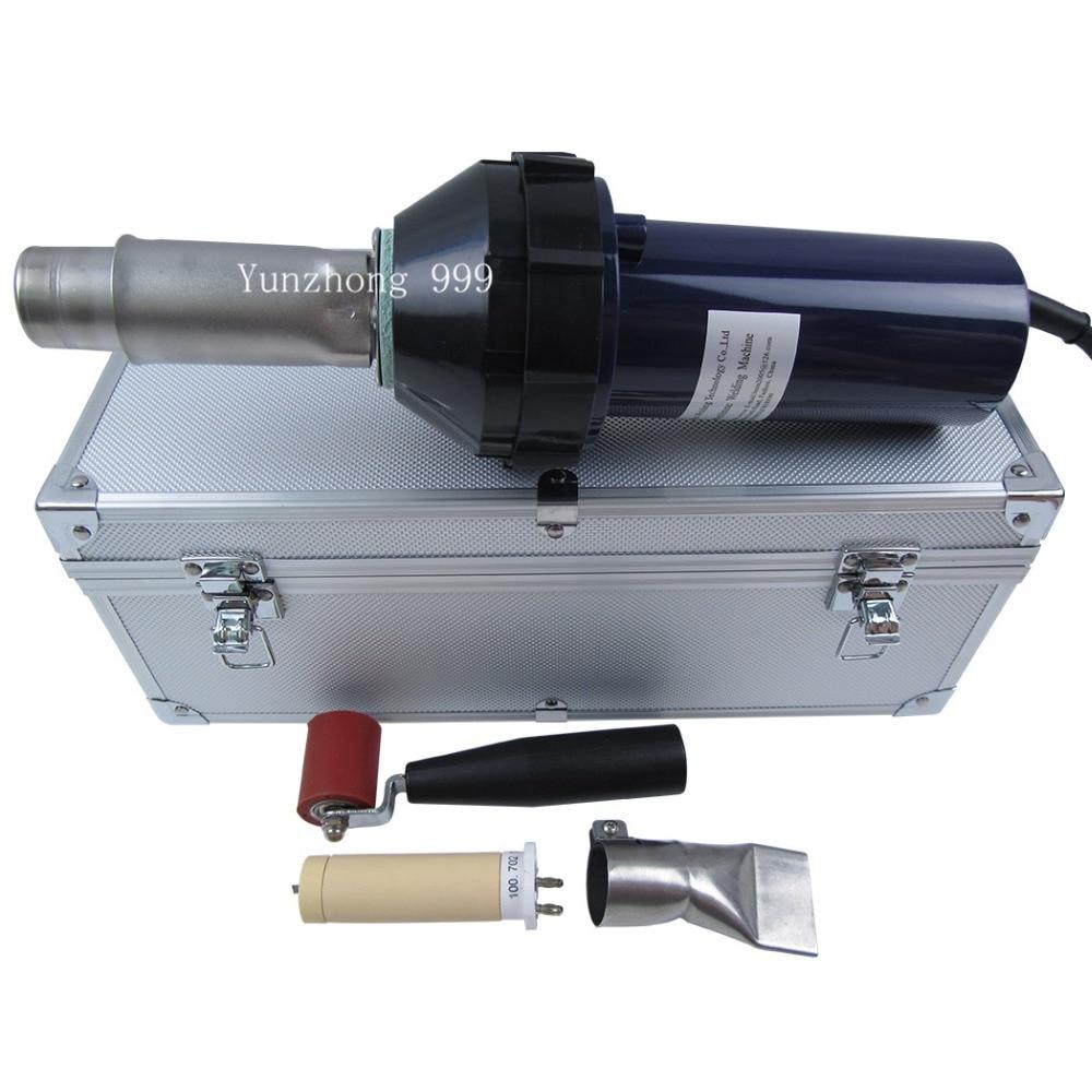 где купить  New Hot-blast 1600w Plastic Welder Gun & Welding Nozzle&roller& heater element  по лучшей цене