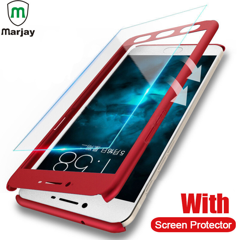 Hot Sale Marjay 360 Full Cover Protection Case For Xiaomi Redmi Note