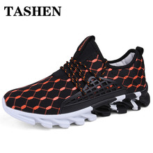 Fashion Men Sneakers 2019 Outdoor Men Running Shoes for Brand Comfortable Lace-Up Sport Men Shoes Spring Autumn autumn spring children shoes brand outdoor trainner male sneakers anti skid wear running shoes breathable for men comfortable