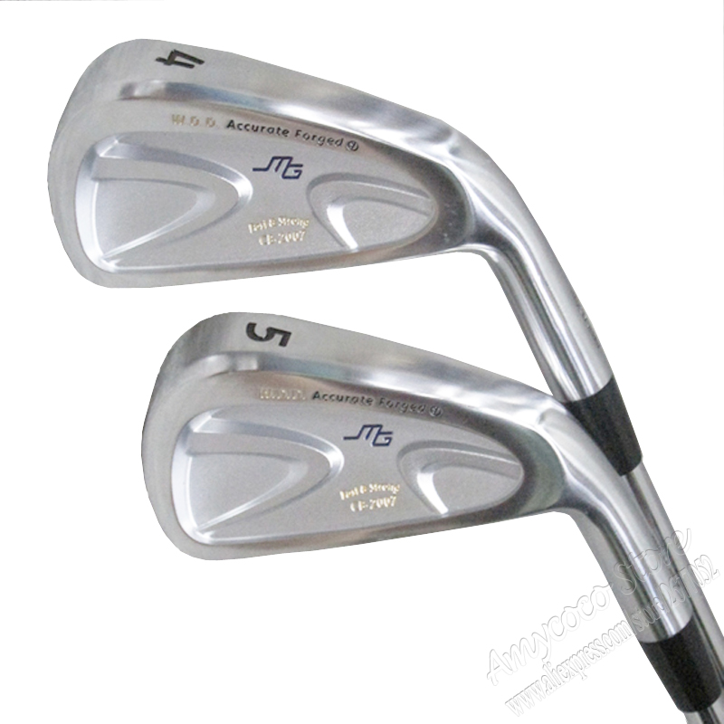 Cooyute New Miura Golf Clubs Miura MG CB-2007 Golf Irons 4-9P Golf Graphite or Steel shaft R or S Golf Clubs shaft Free shipping