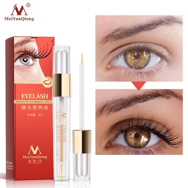 De crecimiento de pestañas potenciador del ojo más tratamientos líquido suero más grueso mejor extensión de pestañas poderoso maquillaje