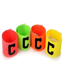 New arrival Football font b Soccer b font Flexible Sports Adjustable Player Bands Fluorescent Captain Armband