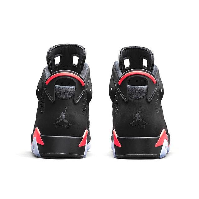 "buy popular 99f64 5abcf ... Original New Arrival Authentic NIKE Air Jordan 6 Retro ""UNC"" Men  Basketball Shoes Sneakers"