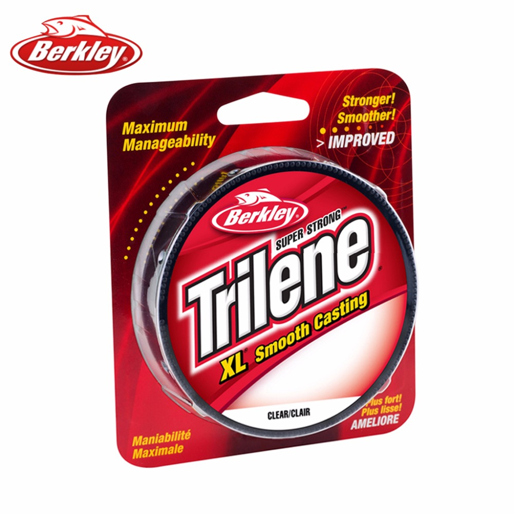 Original Berkley Brand 300yd/330yd Trilene XL Fishing Line Clear ...