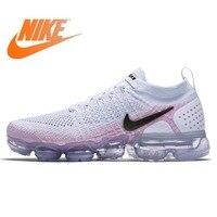Оригинальные новые женские кроссовки NIKE Air Max Vapormax Flyknit, спортивная обувь для бега, дышащие, водонепроницаемые, медленно амортизирующие крос