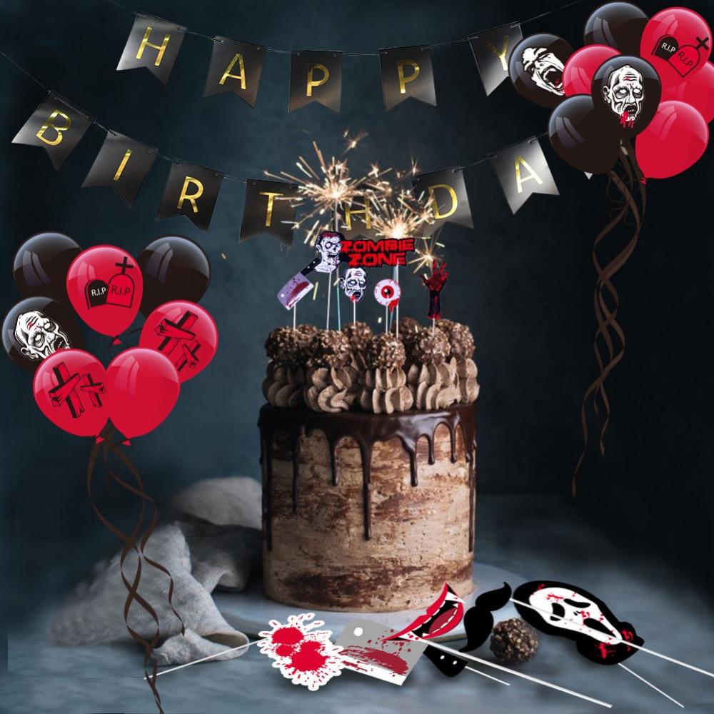 Aliexpress.com : Buy Fun Zombie Birthday Party Decoration