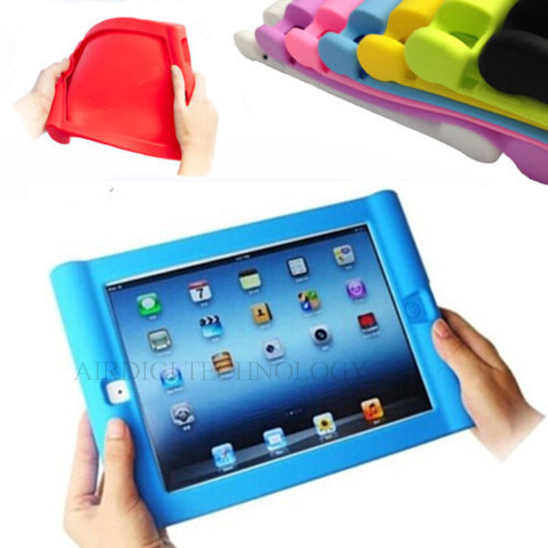 För APPLE IPAD AIR 5 / AIR 2-fodral Skyddande Shockproof Soft Silicone Case Cover för iPad 5/6 Hem Barn Skola Kids Gamer