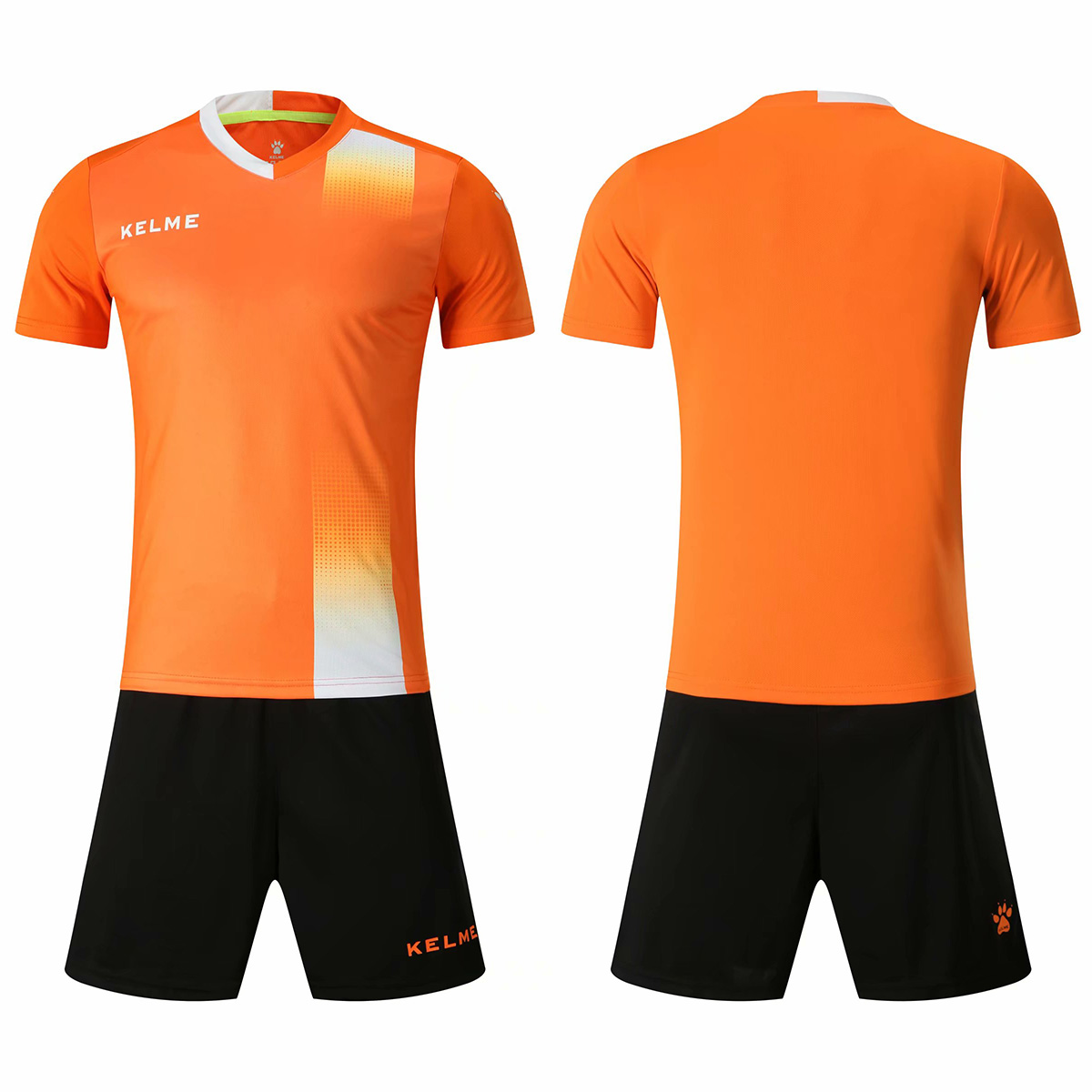 Men's New Personality Football Sportswear Suit Sportswear Football Training Suit Running Training Suit Blank Can Be Customized