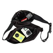 Magic Belt Waist Storage Bag Accesorios For GoPro HD Hero 4 3+ 2 1 Sj4000 Sj6000 Sj5000 Camera Accesories GP91 Free shipping