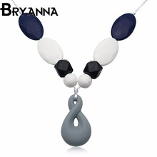 BRYANNA N842 Hot fashion jewelry wholesale classic silicone Women necklaces for women choker necklace