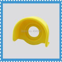 10pcs Button switch  protective cover 22mm emergency stop button yellow 22MM box