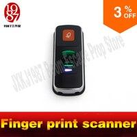 Chamber room escape game prop finger print scanner scan the fingerprint to unlock real life adventure game prop jxkj1987