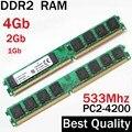 4 Gb 2 Gb 1 Gb ddr2 RAM 533 DDR2 533 Mhz 4 gb/AMD Intel escritorio memoria ram ddr2 1 Gb/memoria RAM 4G ddr 2 2 gb PC2 4200