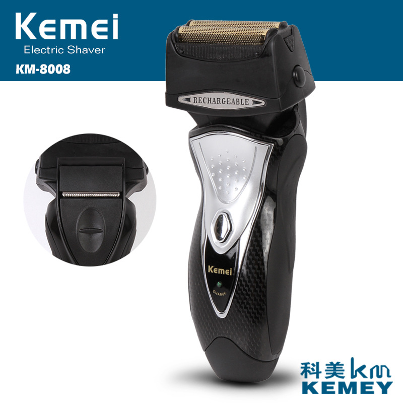 kemei rechargeable electric shaver 3D beard shaver barbeador face care electric razor men shaving machine trimmer rechargeable electric shaver washable trimmer barbeador face men shaving machine groomer beard kemei 3d electric razor