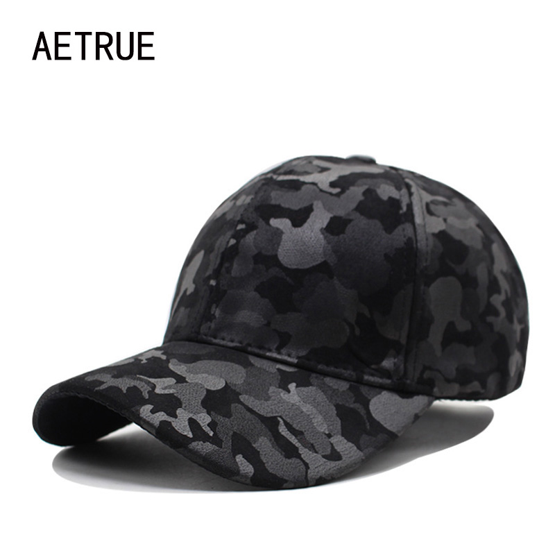 AETRUE Women Baseball Cap Camouflage Men Snapback Caps Brand Bone Hats For Men Casquette Sun Hat Gorras Adjustable Dad Cap 2017 brand beanies knit men s winter hat caps thick skullies bonnet hats for men women beanie male warm gorros knitted hat