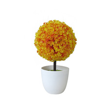 Ball Tree Pot Potted Plant For Home