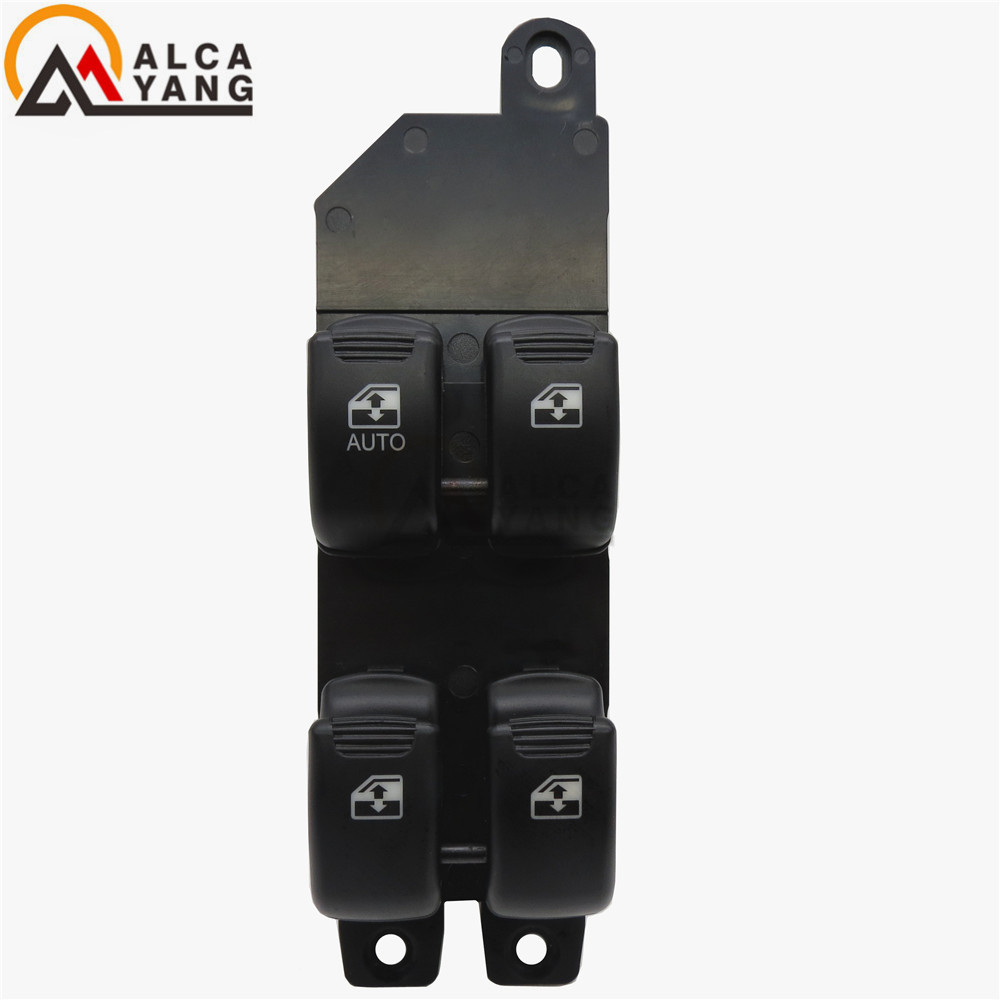Malcayang Driver Side Front Window Control Switch For Hyundai 03-06 Santa Fe Window Switch Front Door Left 93570-26100