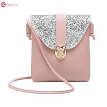 Luxury Bags For Women PU Handbag Small Sequins Shining Spark