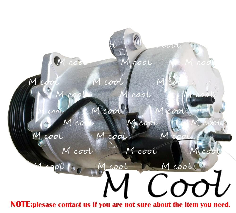 High Quality AC Compressor For Seat 1J0820803F For Car Audi A3 TT For Car Skoda Octavia For VW Golf Polo Bora Caddy New Beetle