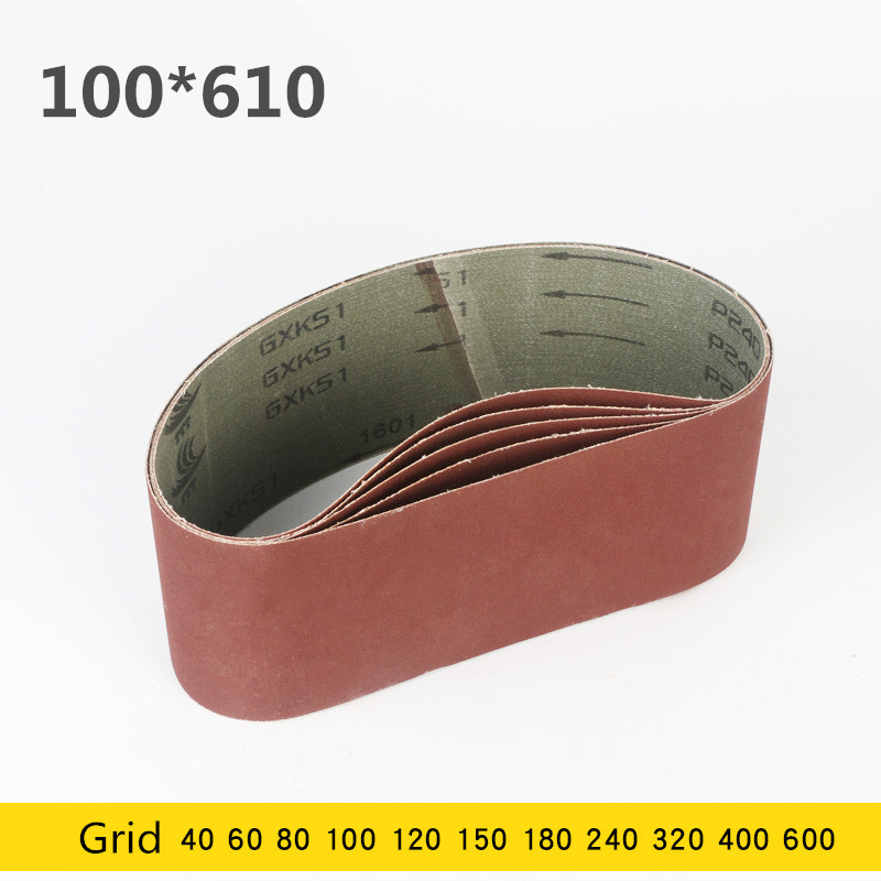 5 Pcs 100*610 Mm Sanding Belt 4