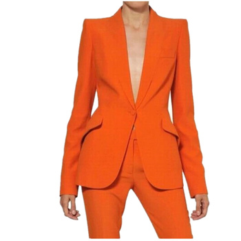 High Quality Orange Women Pantsuits Work Pant Suits OL 2 Piece Sets Women Blazer Jacket Pencil.jpg 350x350 - Awesome Gift Funny