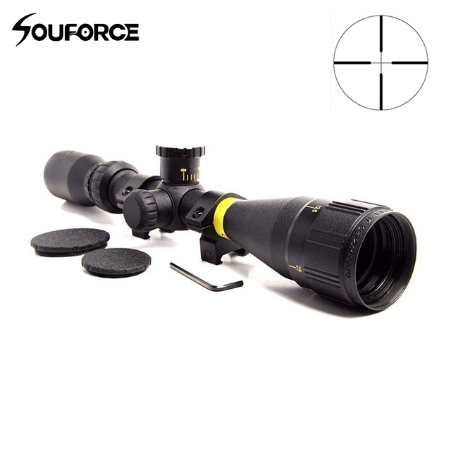 3-12x40 AO Duplex Crosshair Reticle Sight Tactical Riflescope Reticle Optical Rifle Scope Optical Sight for Air Rifle Hunting