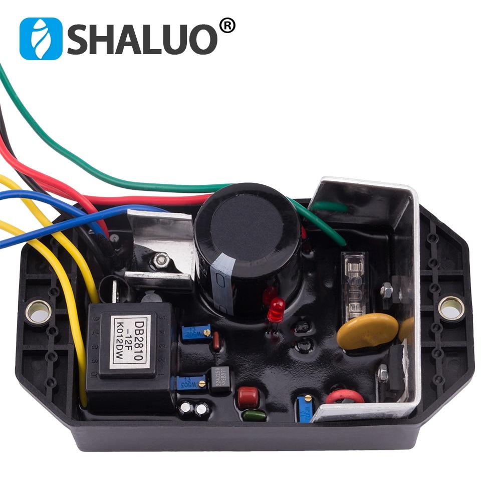 AVR KI DAVR 150S Automatic Voltage Regulator Modules 220V Single Phase 15KW Kipor Generator Alternator Parts