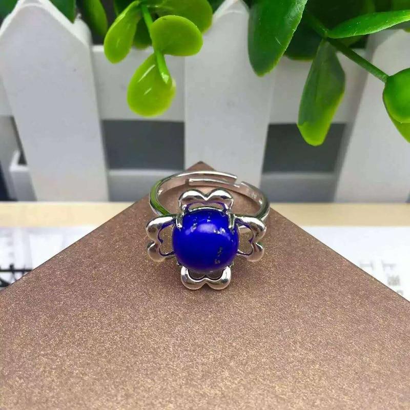 Personnalité mode paon anneau en forme de femmes argent ornement usine personnalisé 925 argent incrusté lapis anneau