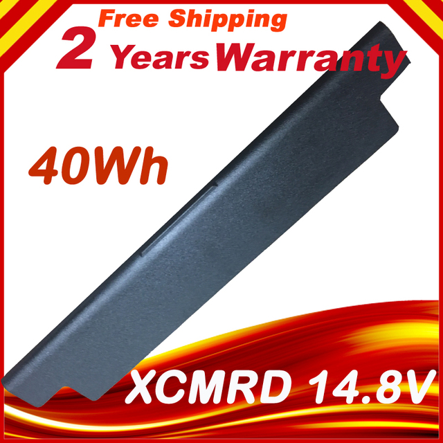 Аккумулятор для ноутбука DELL XCMRD, 14,8 в, 40 Втч, Аккумулятор для ноутбука Dell Inspiron 17R 5721 17 3721 15R 5521 15 3521 14R 5421 14 3421 MR9