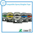 24mm Mix color choosable label tapes used for labelworks printers 5pcs/lot SS24KW,SC24RW,SC24BW,SC24YW,SC24GW