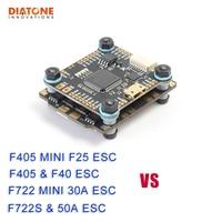 Diatone MAMBA F405 / F722S Betaflight Flight Controller & F40 40A/F25 DSHOT600 50A/30A DSHOT1200 Brushless ESC For RC Model Part