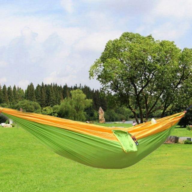 Camping ocio mecedora una persona hamaca Muebles color nylon jardín ...