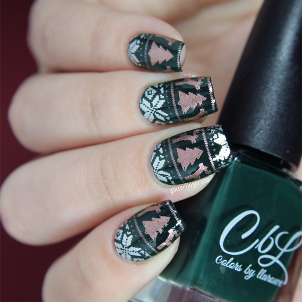 Born Pretty Nail Stamping Plates Xmas Christmas Snowflake Nail Art