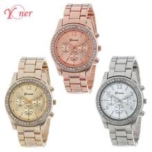Women's watch diamond watches women Rose Gold Quartz Watch Women Silver Wristwatches relogio feminino relogio masculino