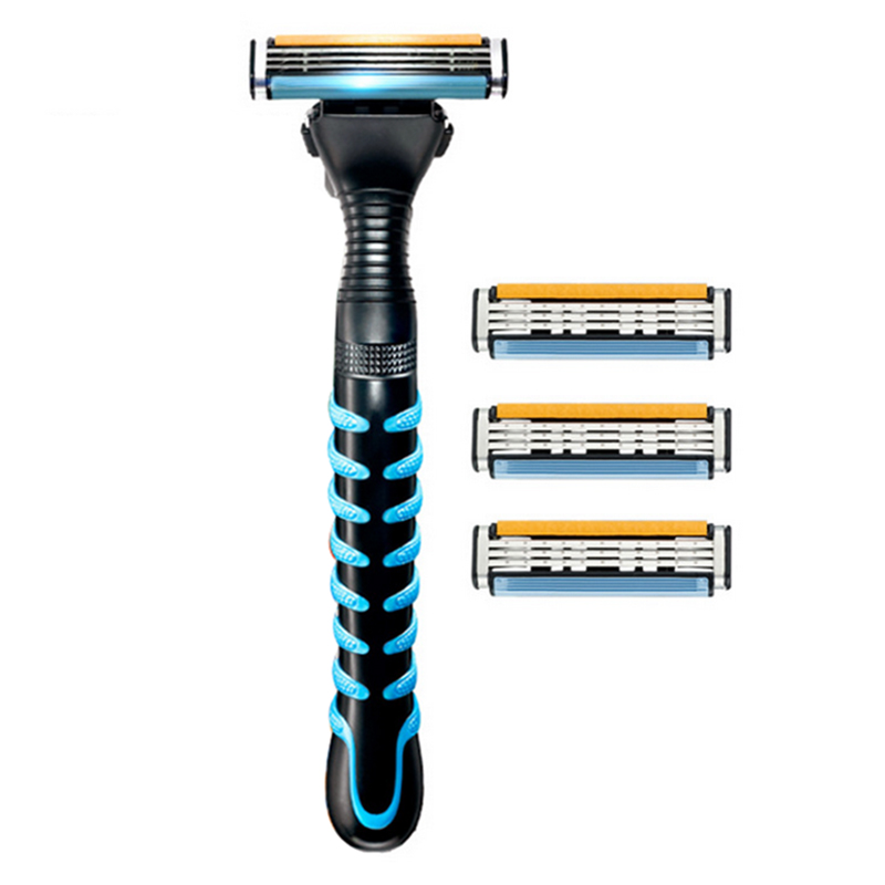 Gillettee Sensor Razor Blade Shaving Razor Blades Shaver Heads For Men Double Edge Safety Razor razors for shaving men double edge razor bright brass blade replaceable chrome manual classic safety razor