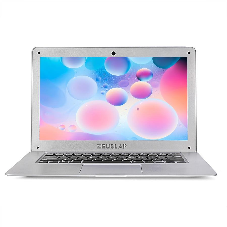 ZEUSLAP 14inch 8gb ram 128gb ssd 500g b hdd Intel Pentium win10 1920X1080P FHD cheap Notebook