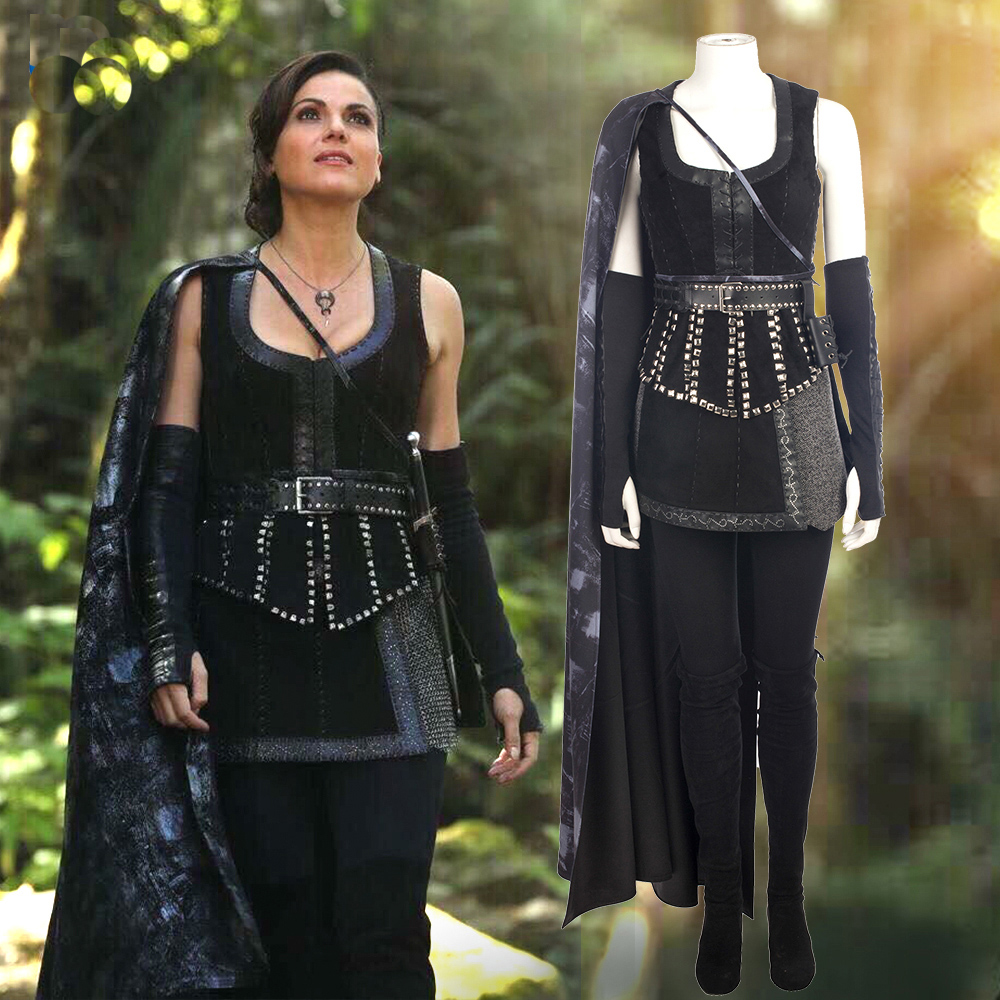 Regina From Once Upoun a Time Dresses