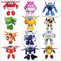 Gros!! Sans boite originale 15 cm Super ailes Transformation déformation avion Robot figurines enfant jouets cadeau superwings