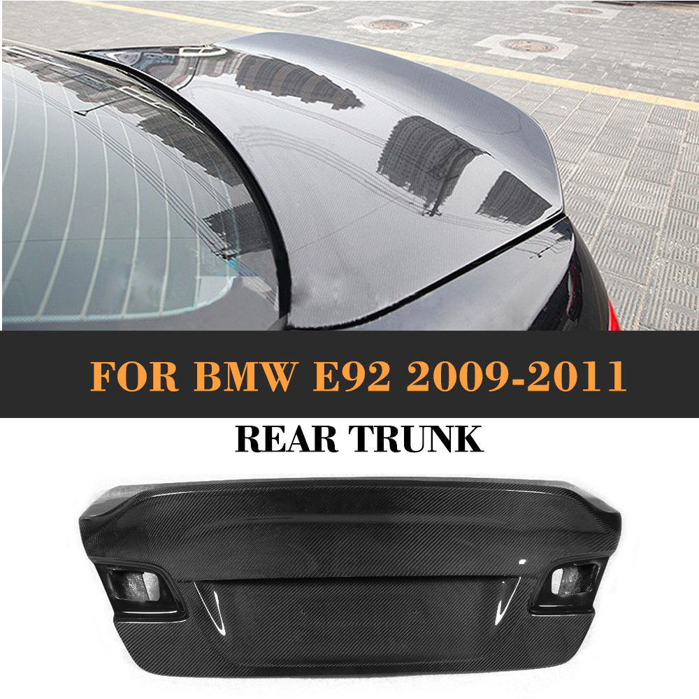 For 3 Series Carbon Fiber Racing Rear Trunk for BMW E92 E92 Standard Coupe 2 Door 325i 335i 2009 2010 2011