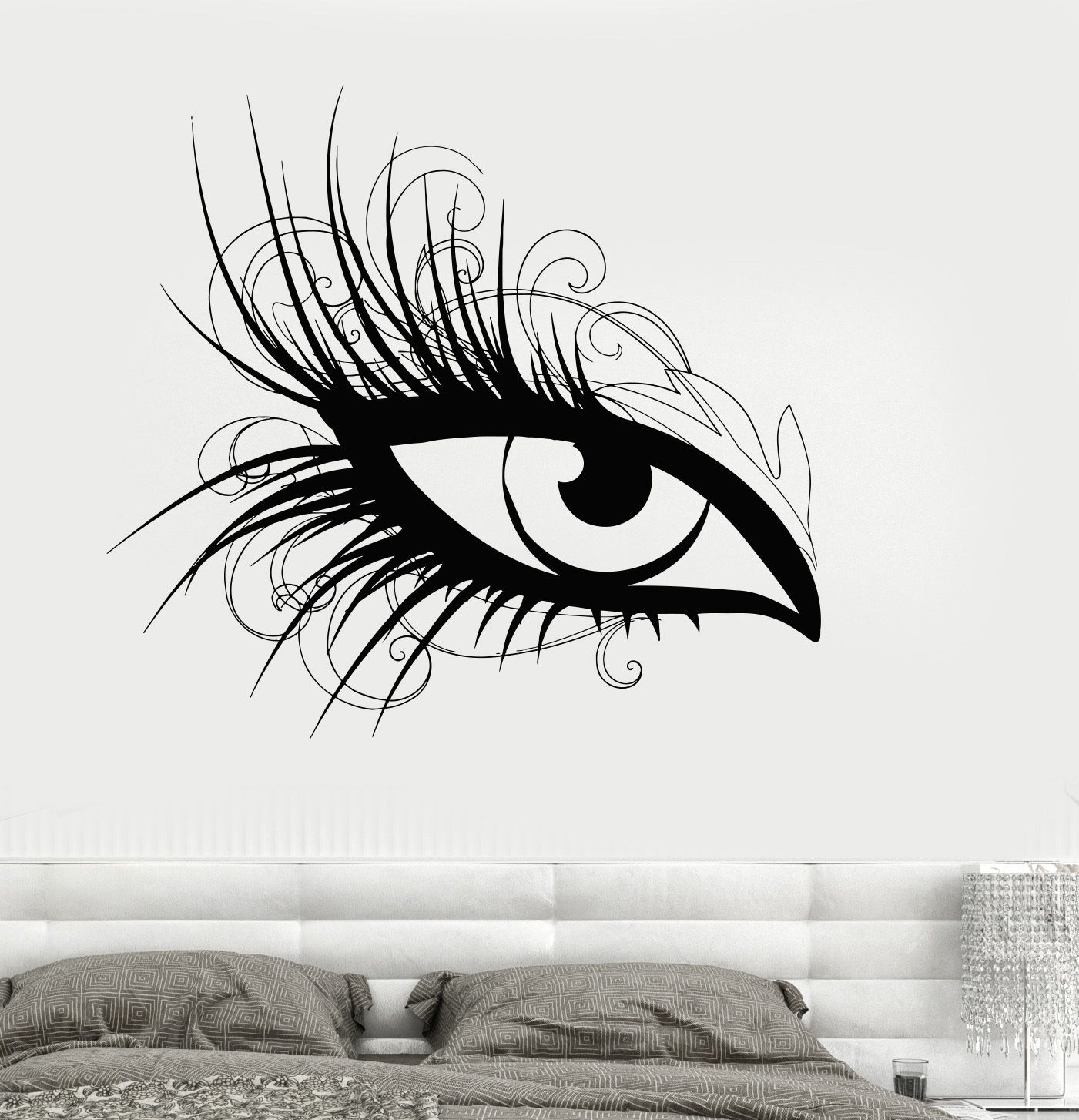 Eye wall stickers images home wall decoration ideas eye wall stickers the new sticker design por 3d wall paper eyes 3d wall paper eyes amipublicfo Images