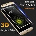 3D Изогнутые Полное Покрытие Из Закаленного Стекла Для LG G5/G5 SE 5.3 дюймовый Экран Протектор Защитная Для H850 VS987 LS992 H820 H830 US992