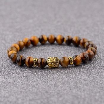 Tiger's Eye Chakra Bracelet