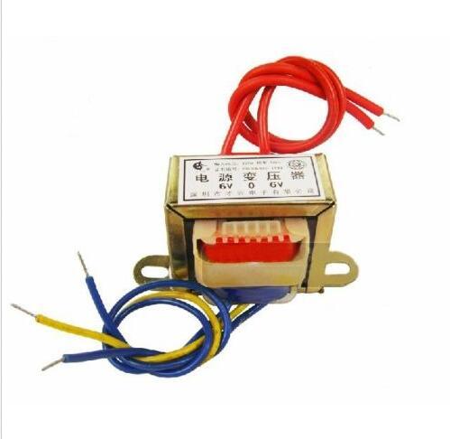 (1) 50W EI Ferrite Core Input 380V 50Hz Electric Power Transformer Output 220V ei 57 model ei ferrite core 220v 50hz input ac 24v 30va 30w output power transformer